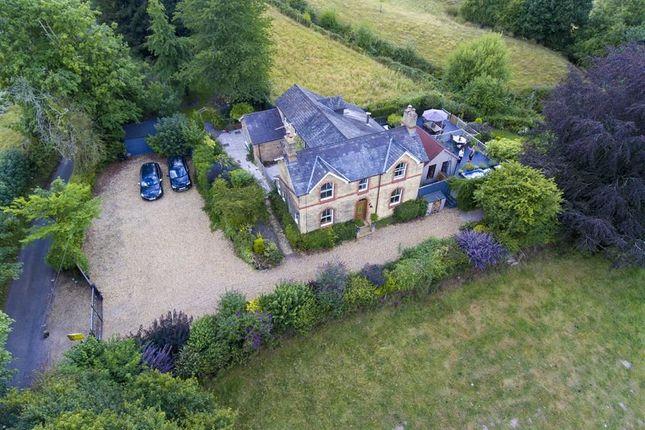 Thumbnail Detached house for sale in Pontfaen, Chirk, Wrexham