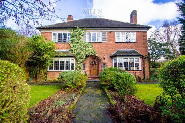 Detached house for sale in Lordswood Road, Harborne, Birmingham, West Midlands