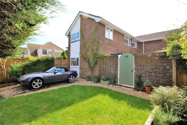 Thumbnail End terrace house to rent in Findon Road, Findon Valley, Worthing