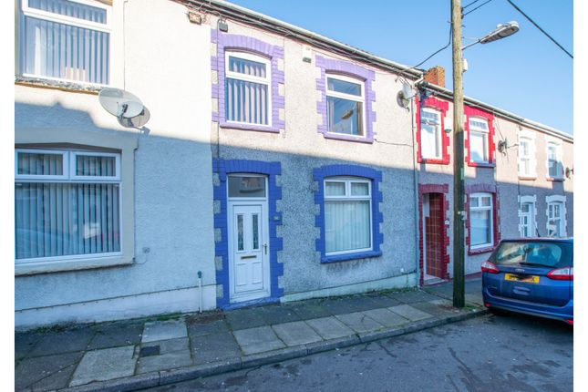 Thumbnail Terraced house for sale in West Street, Bargoed