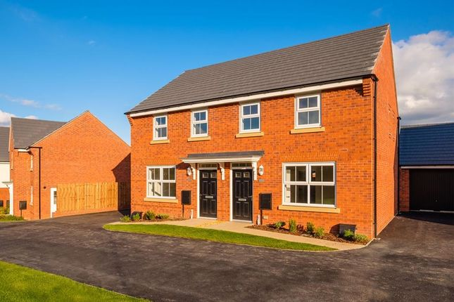 """Thumbnail Semi-detached house for sale in """"Archford"""" at Bishops Itchington, Southam"""