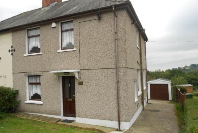 Thumbnail Semi-detached house to rent in Park Crescent, Penygarn, Pontypool