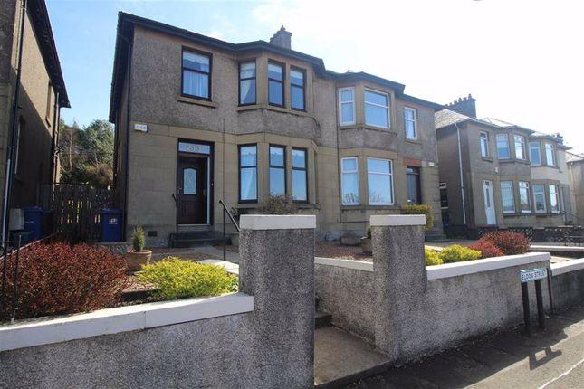 Thumbnail Semi-detached house for sale in Eldon Street, Greenock
