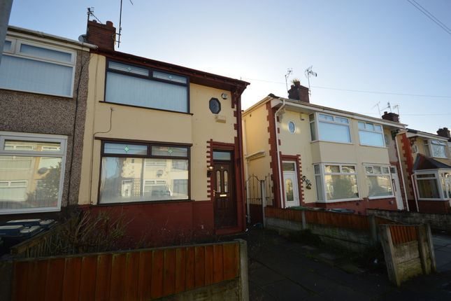 Thumbnail Semi-detached house for sale in Ascot Avenue, Litherland, Liverpool