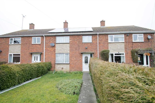 Thumbnail Terraced house for sale in Heron Avenue, Thrapston, Kettering