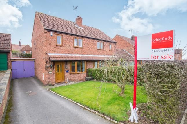 Thumbnail Semi-detached house for sale in New Lane, Green Hammerton, York, .