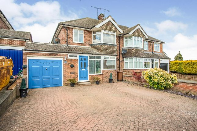 Thumbnail Semi-detached house for sale in Thirlmere Close, Wainscott, Rochester, Kent