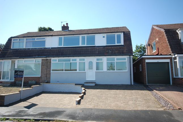 Thumbnail Semi-detached house for sale in Hawthorn Crescent, Durham