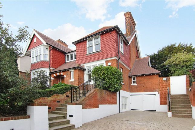 Thumbnail Detached house to rent in Vineyard Hill Road, Wimbledon