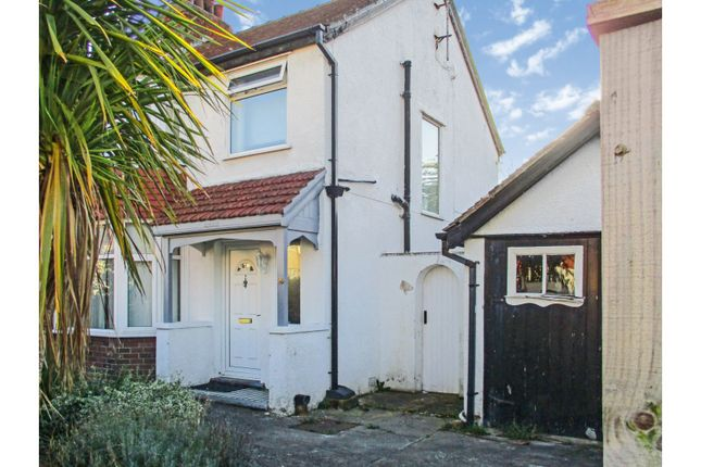 Thumbnail Semi-detached house for sale in Trafford Park, Penrhyn Bay