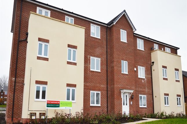 "Thumbnail Flat for sale in ""2 Bedroom Apartment"" at Greenside Way, Walsall"