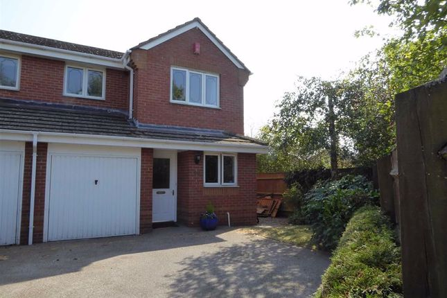 Thumbnail Semi-detached house for sale in Portia Way, Heathcote, Warwick
