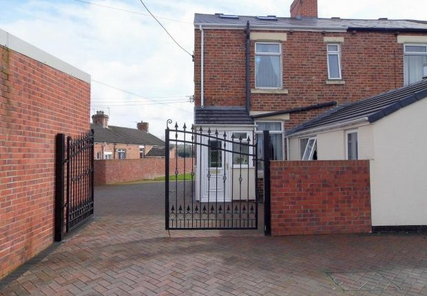 Thumbnail End terrace house for sale in Millbank Terrace, Eldon Lane, Bishop Auckland