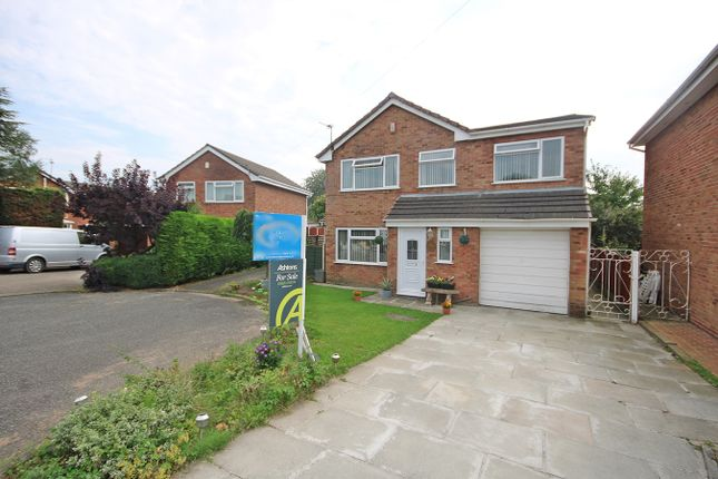 Thumbnail Detached house for sale in Wessex Close, Woolston, Warrington