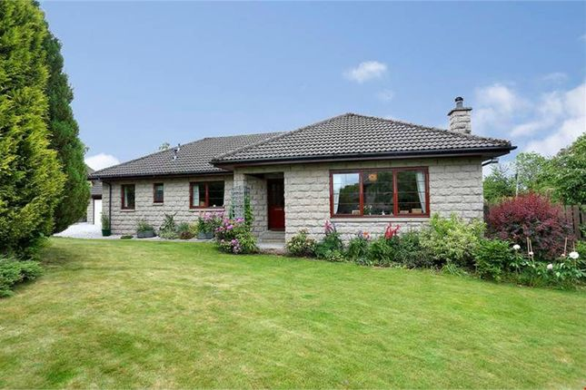 Thumbnail Detached bungalow for sale in Battock Terrace, Torphins, Banchory, Aberdeenshire