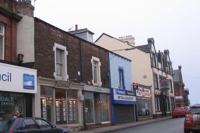 Thumbnail Flat to rent in Finkle Street, Workington