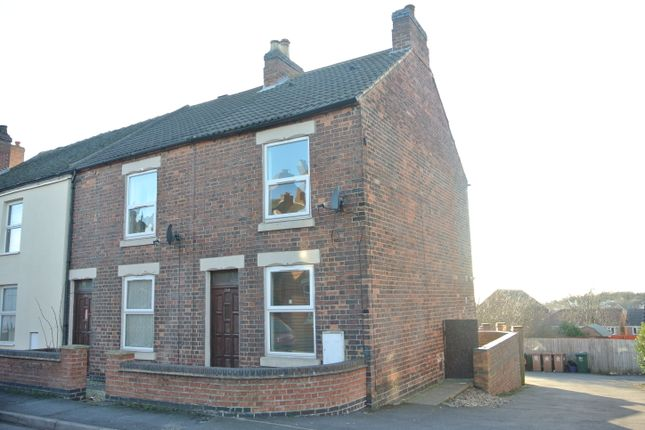 Thumbnail End terrace house to rent in Oversetts Road, Newhall, Swadlincote