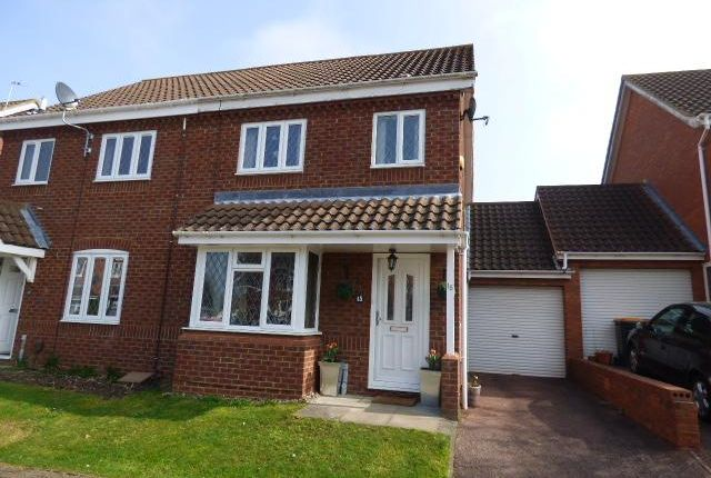 Thumbnail Semi-detached house for sale in Bromham, Beds