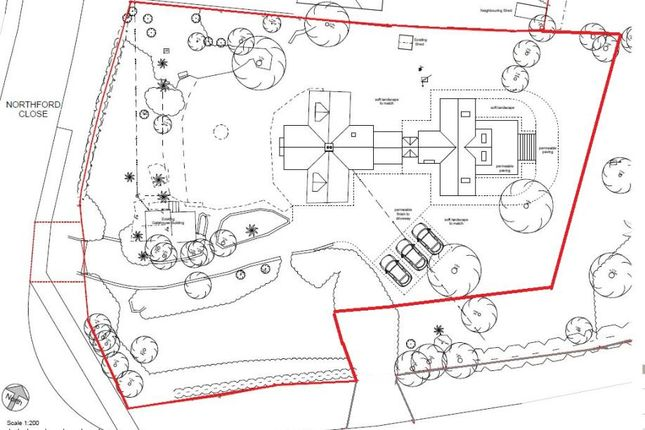 Swiss Site Plan of Shrivenham, Swindon SN6