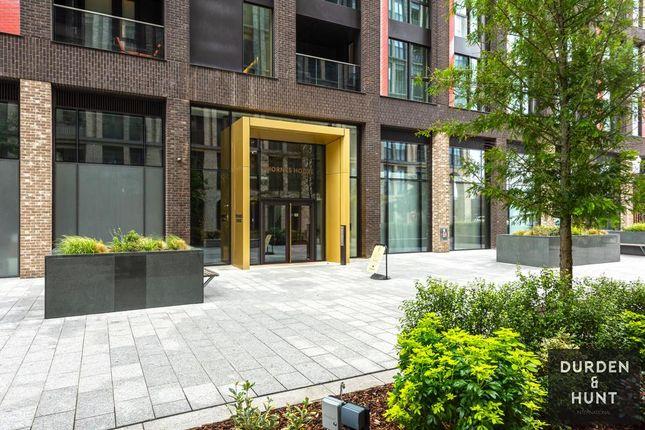 Thumbnail Flat to rent in Thornes House, Nine Elms, Charles Clowes Walk, London