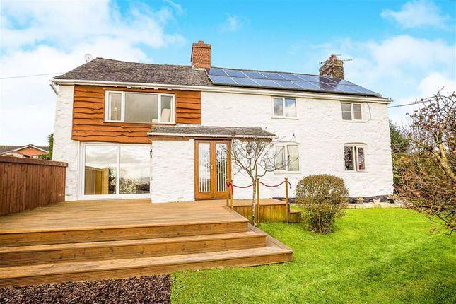 Thumbnail Cottage for sale in Llanfihangel, Llanfyllin