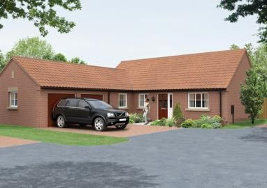 Thumbnail Bungalow for sale in The Goodwood, Willoughby Road, Alford, Lincolnshire