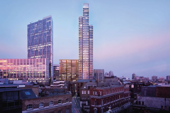 Thumbnail Flat for sale in Principal Place, Worship Place, Shoreditch