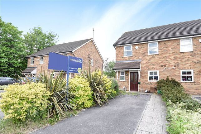 3 bed semi-detached house for sale in Ladbroke Close, Woodley, Reading