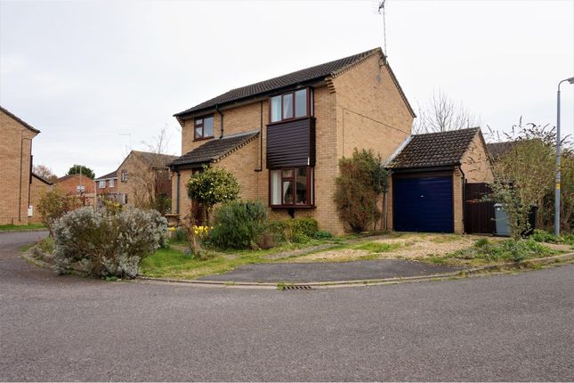 Thumbnail Detached house for sale in Swift Close, Peterborough