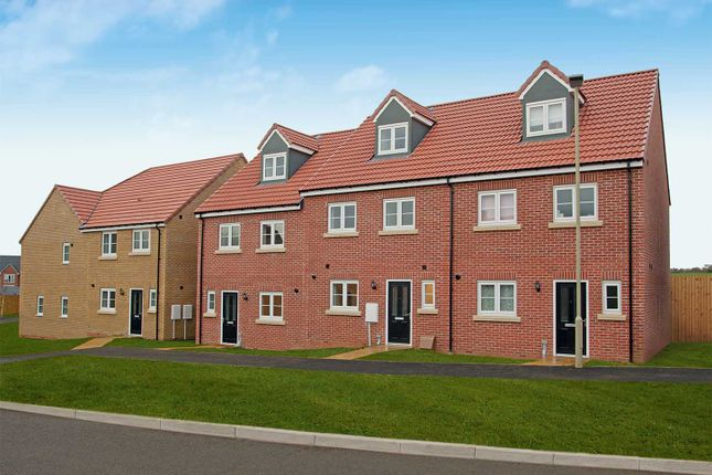 "Thumbnail Semi-detached house for sale in ""The Aslin"" at The Boulevard, Eastfield, Scarborough"