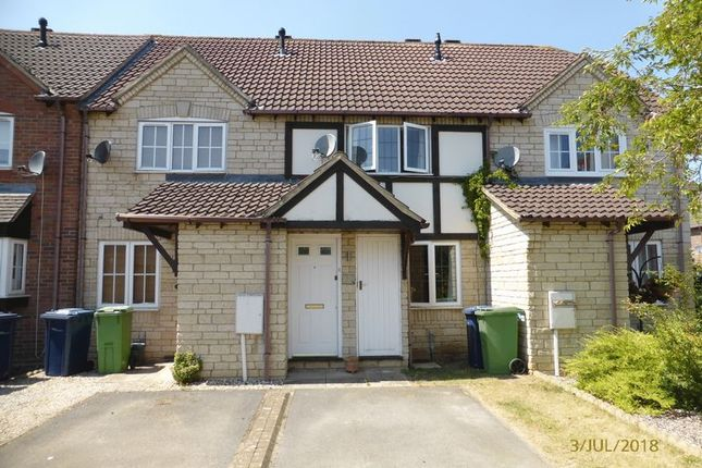 Thumbnail Terraced house to rent in Harvesters View, Bishops Cleeve, Cheltenham