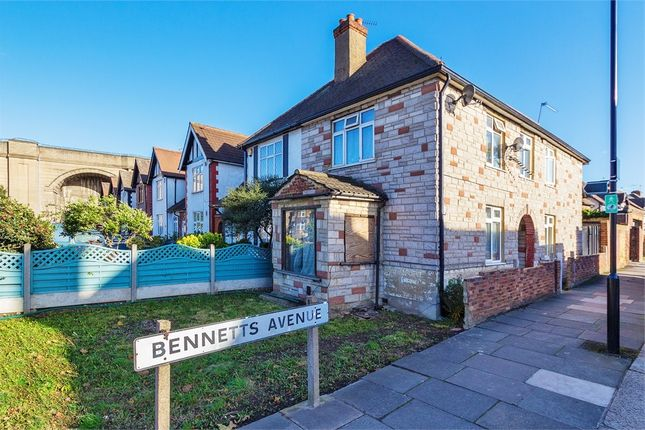 3 bed semi-detached house for sale in Greenford Road, Greenford, Middlesex