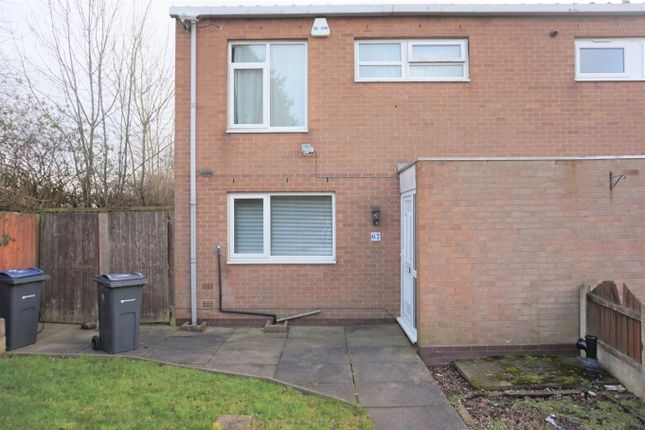 Thumbnail End terrace house for sale in Ercall Close, Erdington, Birmingham