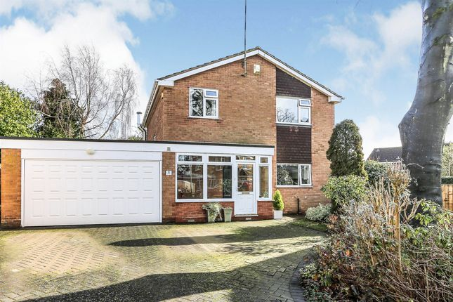 4 bed detached house for sale in Burleigh Close, Balsall Common, Coventry CV7