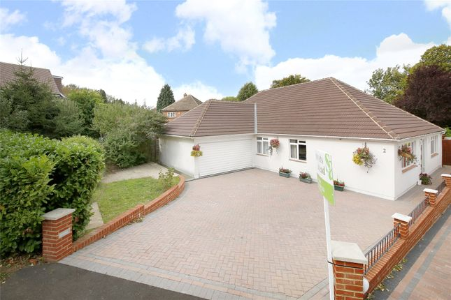 Thumbnail Detached bungalow for sale in Great Woodcote Park, Purley