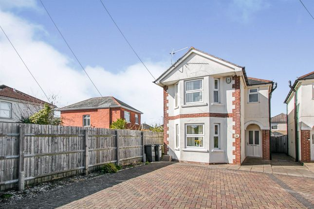 Thumbnail Detached house for sale in Vicarage Road, Moordown, Bournemouth