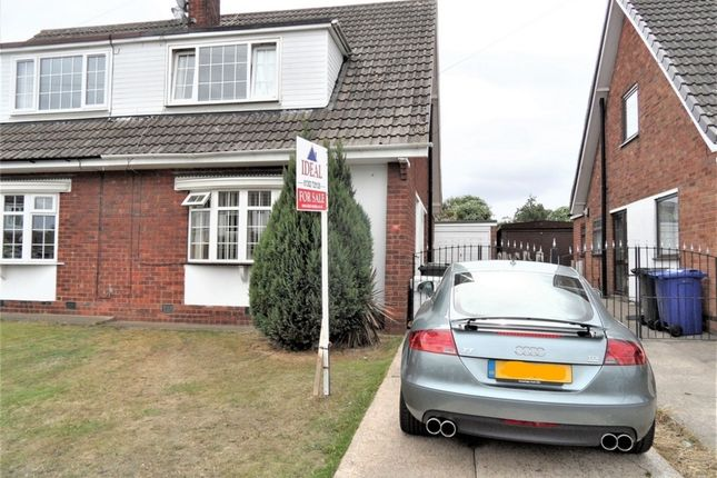Thumbnail Semi-detached house for sale in Cheriton Avenue, Adwick-Le-Street, Doncaster