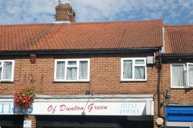 Thumbnail Flat to rent in London Road, Dunton Green, Sevenoaks