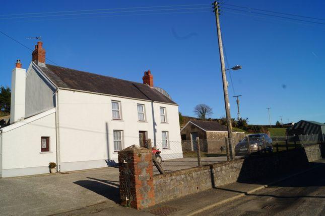 Thumbnail Farmhouse for sale in Penybont, Trelech, Carmarthen