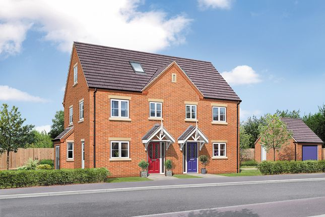 Thumbnail Semi-detached house for sale in The Willow, Greendale Gardens, Hucknall, Nottinghamshire