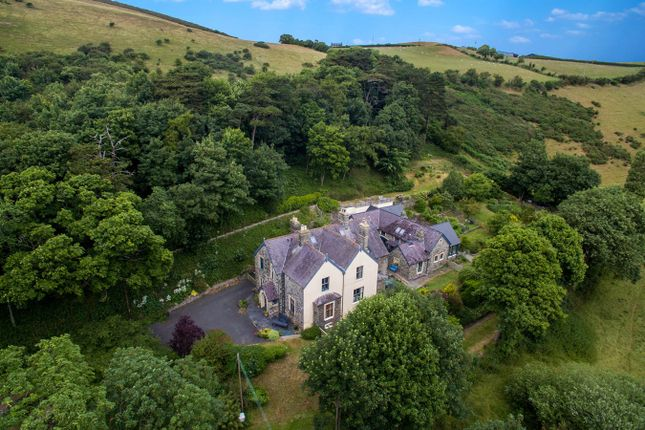 Detached house for sale in (The Old Vicarage), Llanrhystud