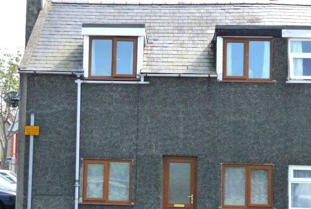 Thumbnail End terrace house to rent in Maengwyn Street, Tywyn, Gwynedd