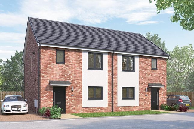 "Thumbnail Semi-detached house for sale in ""The Newbridge"" at Vigo Lane, Chester Le Street"