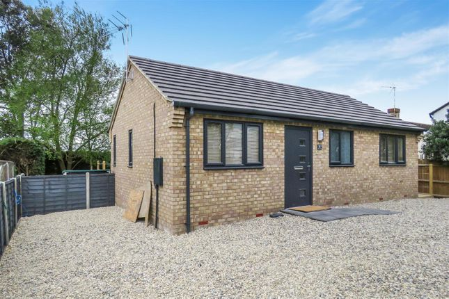 Thumbnail Detached bungalow to rent in Oilmills Road, Ramsey Mereside, Ramsey, Huntingdon