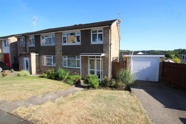 Semi-detached house for sale in Kestrel Close, Downley, High Wycombe