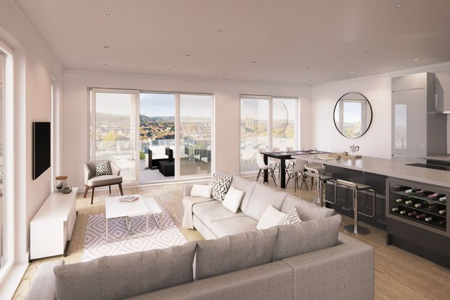 Thumbnail Penthouse for sale in Cathedral Road, Cardiff