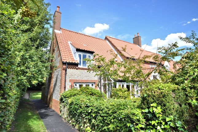Thumbnail End terrace house for sale in Polstede Place, North Street, Burnham Market, King's Lynn