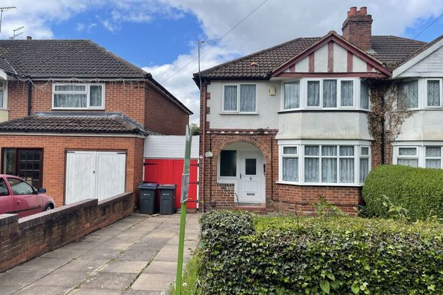 Thumbnail Semi-detached house to rent in Francis Road, Stechford, Birmingham