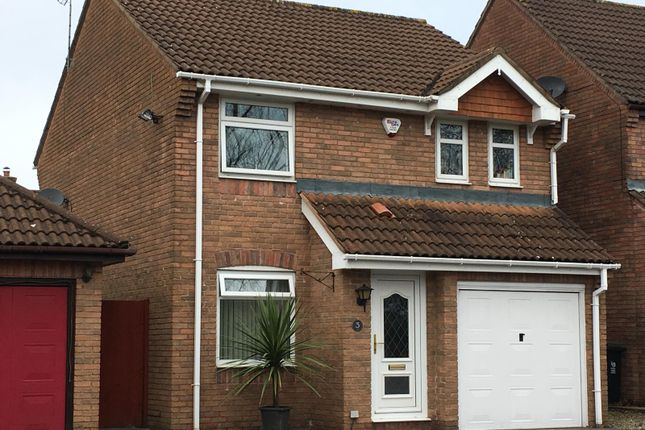 Thumbnail Detached house for sale in Mallards Reach, Marshfield, Caerdydd