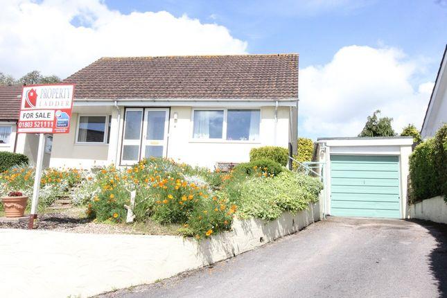 Thumbnail Detached bungalow for sale in Dunstone Close, Paignton
